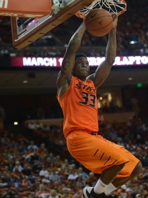 Oklahoma State guard Marcus Smart returns for the Cowboys after averaging 15.4 points as the team's leading scorer.