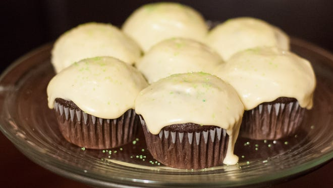 These cupcakes were a crowd-pleaser but caused a huge headache for their baker, Jennifer Brannock Cox.