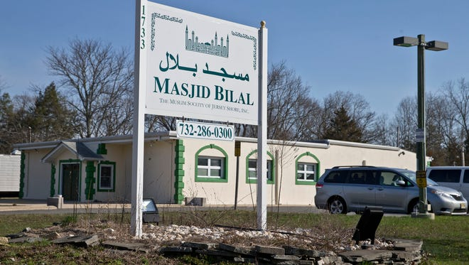 Exterior of Masjid Bilal The Muslim Society of Jersey Shore, Inc. where an Islamic school may open. Toms River, NJ  Thursday, March 23, 2016 @DhoodHood
