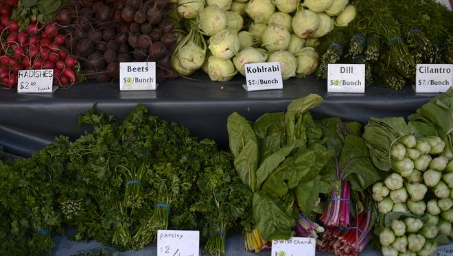 Farmers markets are open in Green Bay, De Pere, Oneida and Shawano.