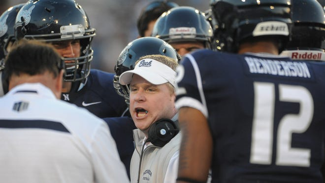 "Brian Polian and the Wolf Pack ""mutually parted ways"" on Sunday."