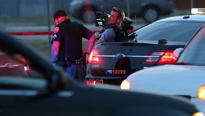 """A """"Live PD"""" cameraman was on the scene of a fatal wreck at the 9600 block of Dyer Street on July 27."""