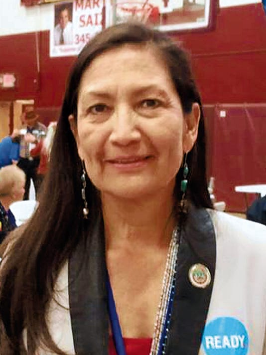 Debra Haaland was elected state Democratic Party chairwoman on Saturday in Albuquerque. Courtesy Photo