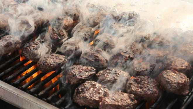 The Burger and Beer Blast, part of Westchester Magazine's Wine & Food Festival, was held at Kensico Dam Plaza in Valhalla, June 4, 2015.