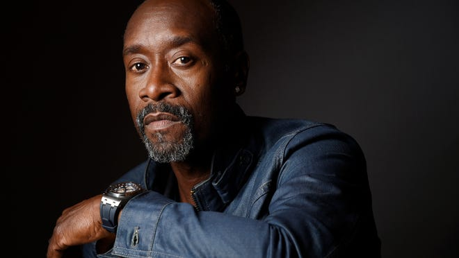 """Don Cheadle, the star, director and co-screenwriter of the film """"Miles Ahead,"""" poses for a portrait at the London Hotel on March 30, 2016, in West Hollywood, Calif. (Photo by Chris Pizzello/Invision/AP)"""