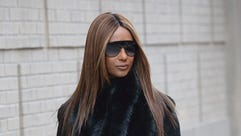 Iman was photographed in New York on Feb. 2.