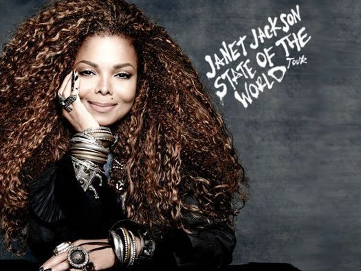 See Janet Jackson live in concert on October 29th at Little Caesars Arena.