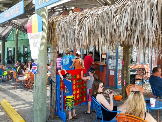 Try over 33 gourmet flavors at Bron's Shaved Ice &