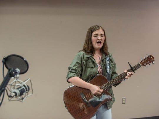 Madeline Mae, 16, of Wetumpka is a singer/songwriter from Wetumpka. She recently performed at the Montgomery Advertiser.