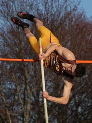 Clarkstown South's Tommy Qualter on his way to winning