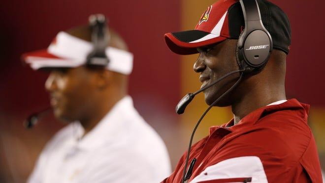 Cardinals defensive coordinator Todd Bowles.