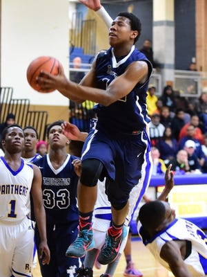 D'eauntae Jackson scored a basket with two seconds left to lift Thurston over Fordson.