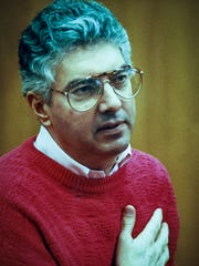 Dr. John F. Boyle, pictured here during his trial, got life in prison for the aggravated murder of his wife Noreen in 1990.