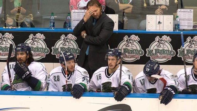 """""""We didn't come close to executing tonight,"""" said Everblades coach Greg Poss"""