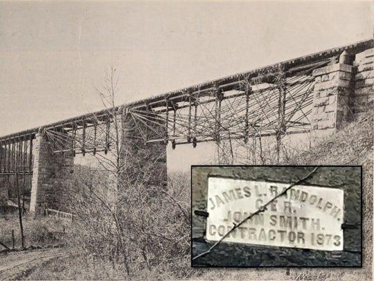 Middle River Bridge c. 1921. Courtesy May 1923 Baltimore