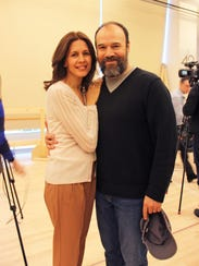 Jessica Hecht and Danny Burstein star as Golde and