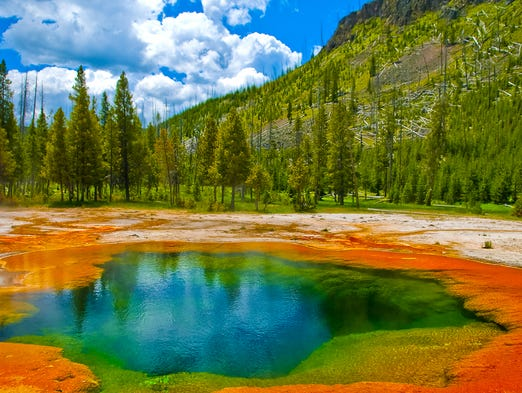 1. Yellowstone National Park It's hard not to be impressed
