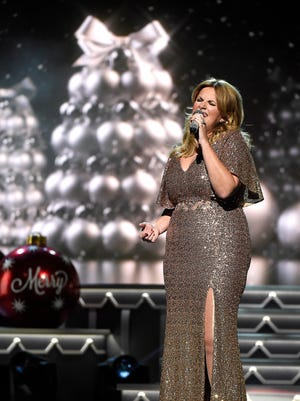 Trisha Yearwood performs at the CMA Country Christmas at the Opry House.