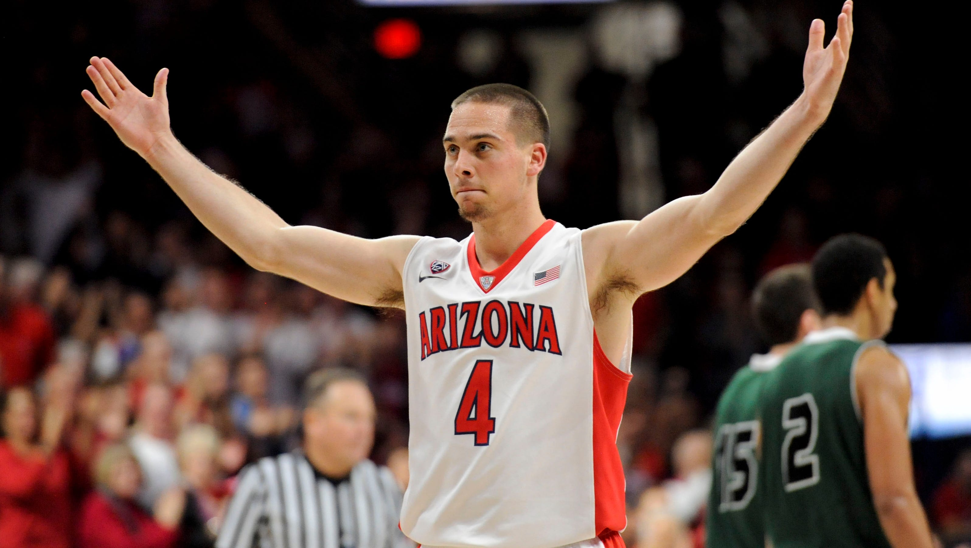 Arizona men's basketball getting 'great floor play' from ...