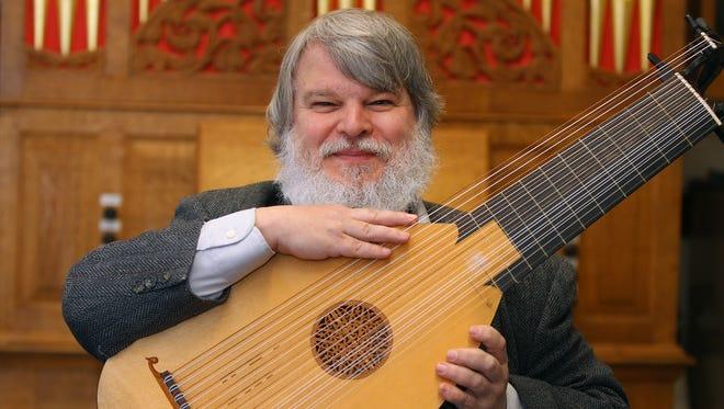 Paul O'Dette, of the Eastman School of Music.