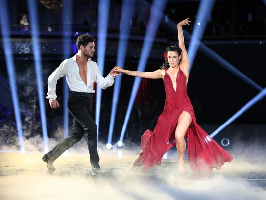 Valentin Chmerkovskiy and Rumer Willis, the season