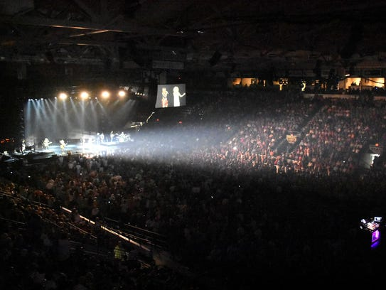 Fans packed Germain Arena for Saturday's sold-out Little