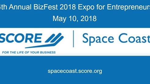The 4th annual BizFest 2018, put on by SCORE's Space Coast chapter, will be May 10 in Cocoa.