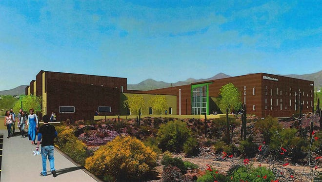 Basis Scottsdale, a nationally-ranked charter school is looking to expand with a new two-story campus in north Scottsdale.