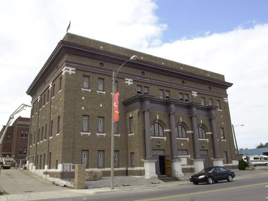 Exterior of the the Temple Club in north Lansing, Aug. 20, 2001. The club, was formerly the Bethlehem Temple Church. The church was converted into a nightclub and concert venue.