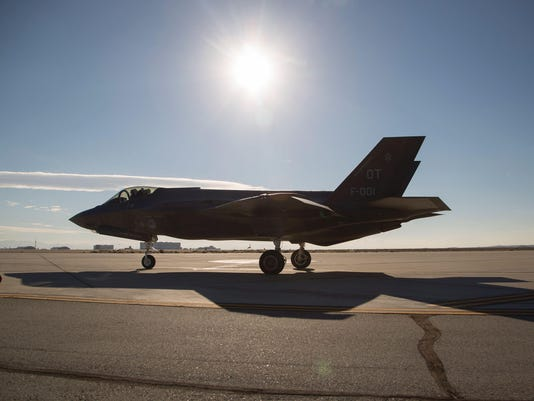 US-DUTCH-LOCKHEED-MARTIN F-35-FIGHTER JET