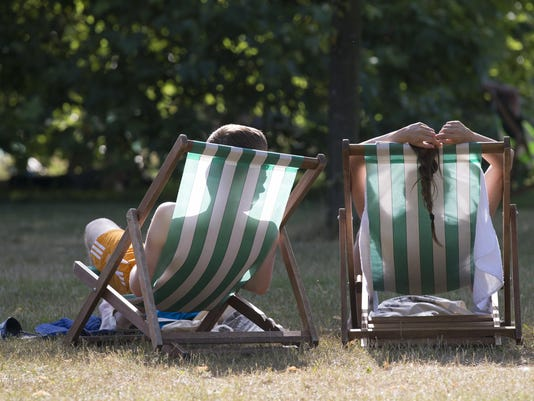 Temperatures Soar To Highest Of The Year