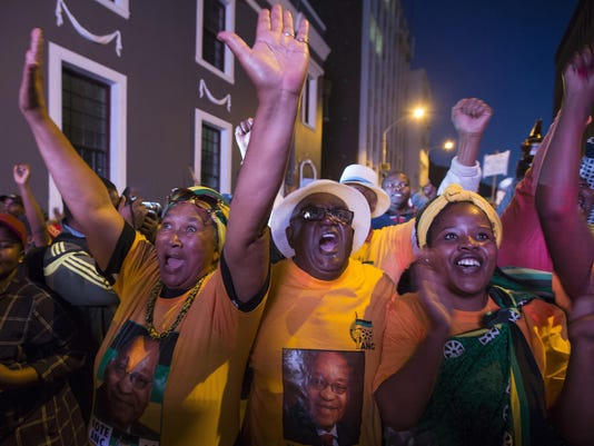South Africa No Confidence Vote
