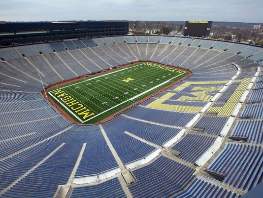 Michigan Stadium, aka The Big House, is home to the Wolverines