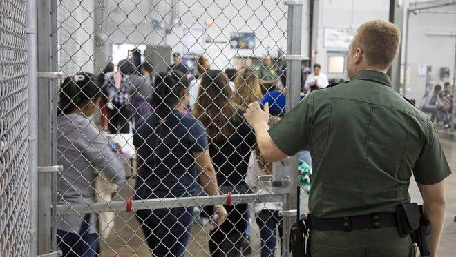 Detention center in McCallen, Texas