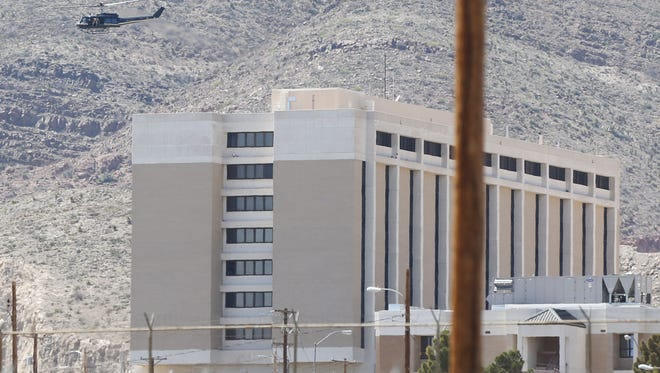 William Beaumont Army Medical Center is shown in this file photo. A contracted employee died Tuesday afternoon at the Army hospital. The investigation continues.