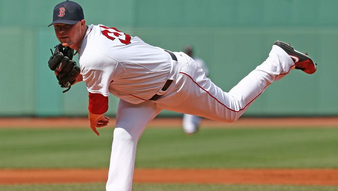 Red Sox starting pitcher Jon Lester pitches against the White Sox on July 10.