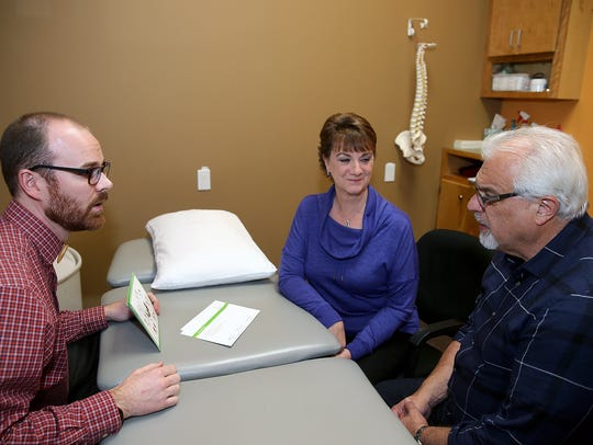 Physical therapist Steve Goldrick says an important