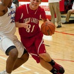 Cameron Bennington scored a team-best 17 points in his final game for Twin Lakes.
