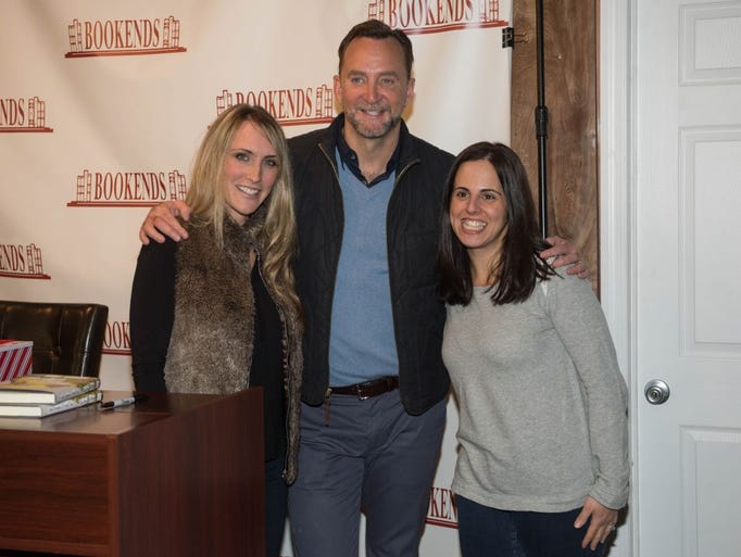 Sara Cuomo, Clinton Kelly and Joanne Bakas. Emmy-award-winning