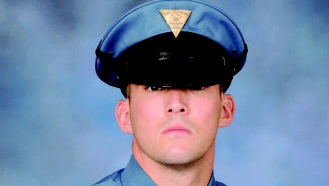 New Jersey State Trooper Sean Cullen, fatally struck on I-295 while on duty, had a fiancee and 9-month-old son.
