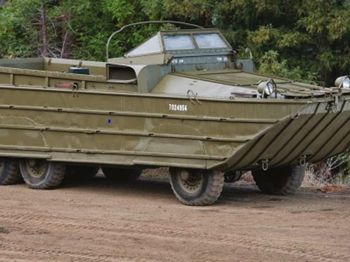 World War Ii Amphibious Landing Craft For Sale