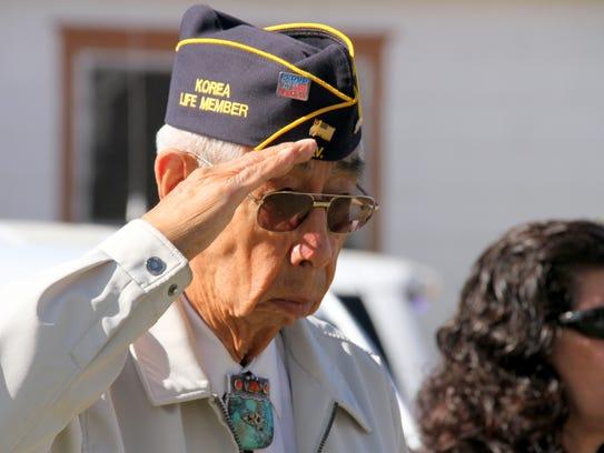 Deming veteran Ruben Acosta is a fixture at Memorial