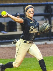 CJ Parsons came to Purdue from Florida. She is one of seven Boilermaker seniors.