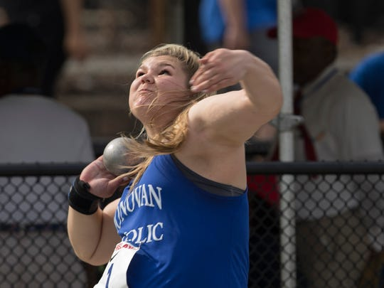 Donovan Catholic's Alyssa Wilson takes first in High