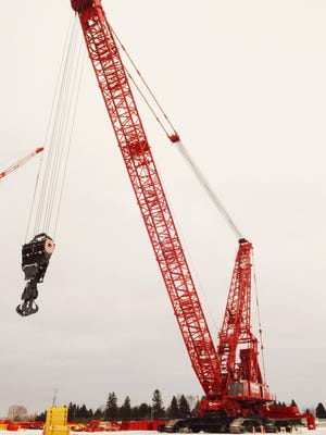 Manitowoc Company will move its crawler crane manufacturing operations from Manitowoc to Shady Grove, Pennsylvania, the company said Aug. 8.