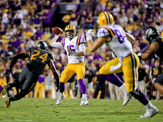 NCAA Football: Missouri at Louisiana State