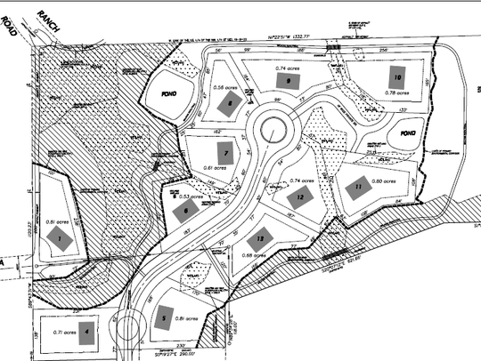 This conceptual plan by North Shore Engineering shows