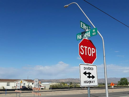 A project to widen Elks Drive just south of the intersection with Engler Road in Las Cruces will last through July, city officials say.