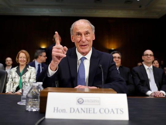 Director of National Intelligence-designate Dan Coats