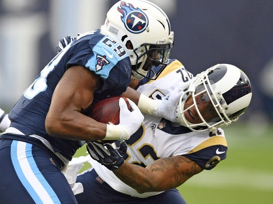 Running back DeMarco Murray, who played last year with the Titans, is a free agent.
